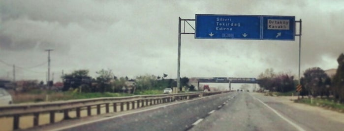 Edirne-İstanbul Otoyolu is one of Orte, die Özge gefallen.