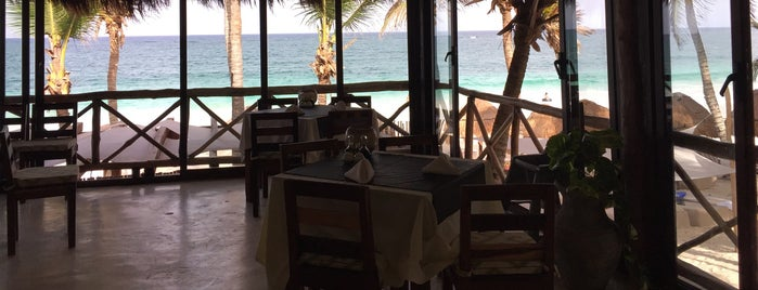 Rosa Del Viento - Playa Tulum is one of Restaurants.