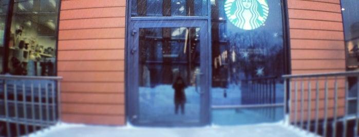Starbucks is one of Posti che sono piaciuti a Максим.