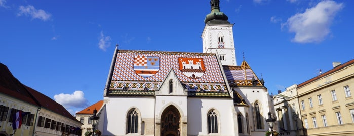 St. Mark's Square is one of Zagreb To-Do.