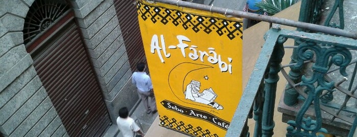 Al-Farabi is one of Comer no centro.