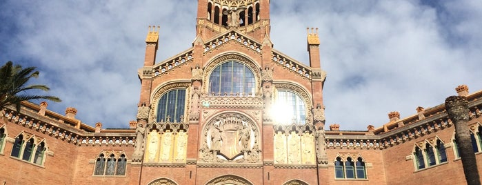 Recinto Modernista de Sant Pau is one of Museus i monuments de Barcelona (gratis, o quasi).