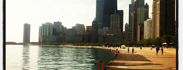 Oak Street Beach is one of Chicago Fun Times.