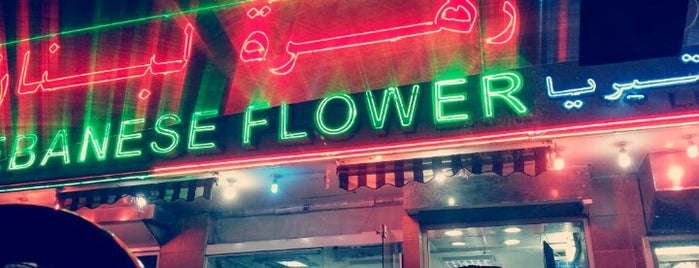 Lebanese Flower Cafeteria & Restaurant, Salam St., Abu Dhabi, U.A.E. is one of Orte, die Ted gefallen.