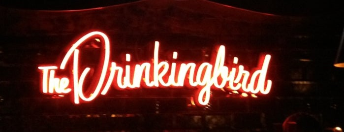 The Drinkingbird is one of Visited Bars.
