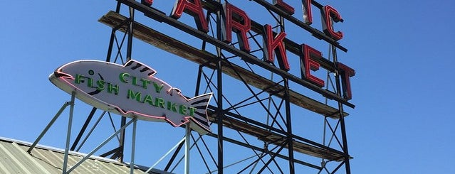 Pike Place Market is one of Sleepless in Seattle.