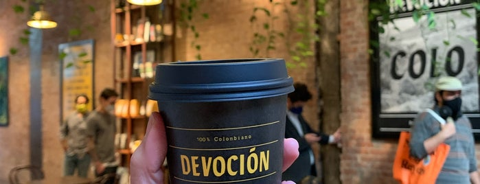 Devoción is one of Bakery.