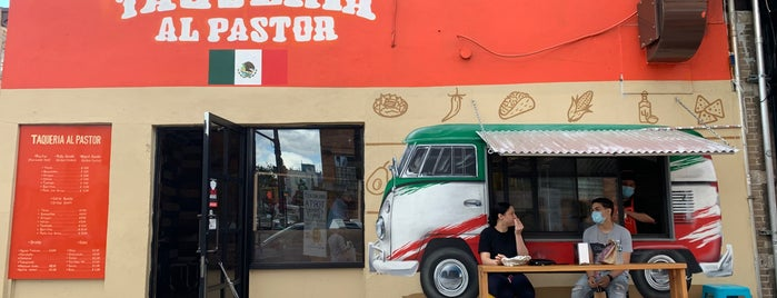Taqueria Al Pastor is one of NYC // BKLYN Places to Eat.