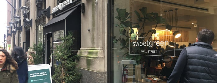 sweetgreen is one of New York.