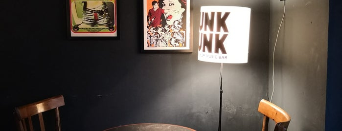 PunkFunk • Record Shop Music Bar is one of Ziggy loves Palermo.