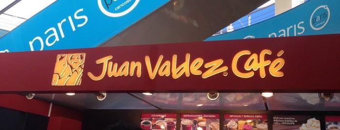 Juan Valdez Café is one of Locais curtidos por Percy.
