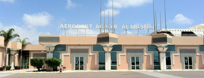 Agadir Al-Massira International Airport (AGA) is one of Airports I've been to.