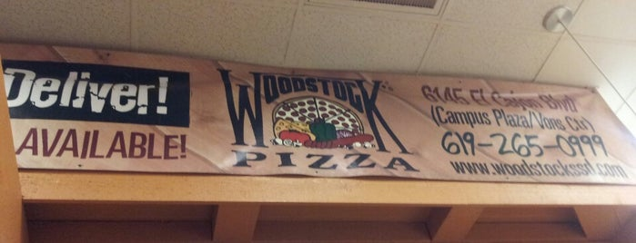 Woodstock's Pizza is one of USA San Diego.
