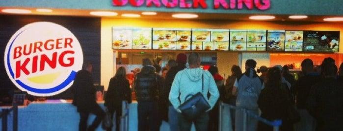 Burger King is one of Lieux qui ont plu à Thomas.
