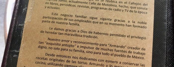 ARMANDO TORTERIA is one of Rodrigo_Raulさんのお気に入りスポット.