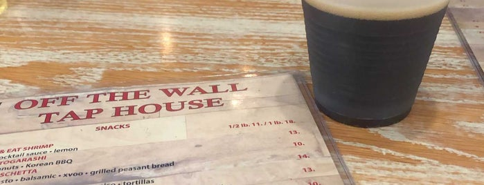 Off The Wall Tap House is one of NC Breweries.
