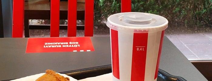 KFC is one of Posti che sono piaciuti a Merve.