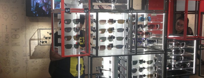 Ray-Ban is one of London shopping..