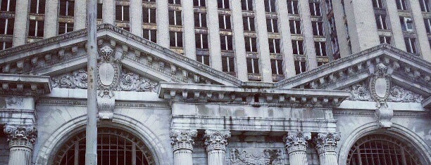 Grand Central Station is one of Detroit.