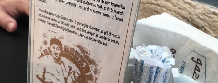 Gazyağcı Furun Kebabı is one of Mutlaka gidilecek.