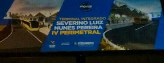 Terminal Integrado Severino Nunes Pereira .IV Perimetral is one of Pontos de localização.