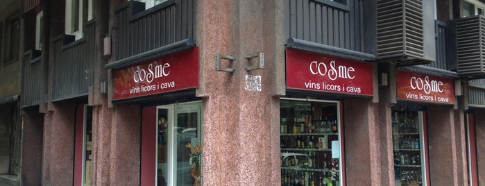 COSME Vins, Licors I Cava is one of Zona alta.