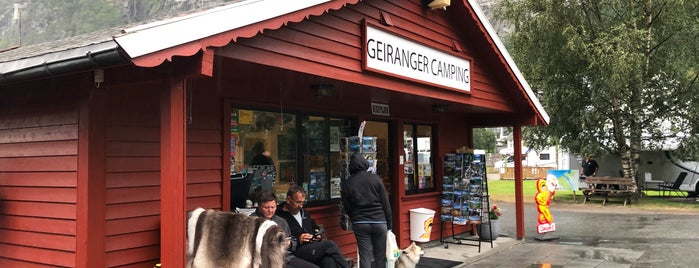 Geiranger Camping is one of Krzysztof 님이 좋아한 장소.