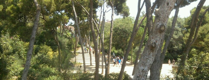 Park Güell is one of Parks/Outdoors.