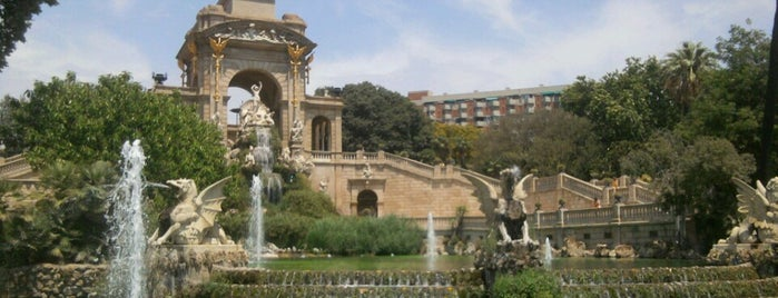 Parc de la Ciutadella is one of Barcelona's Best Great Outdoors - 2013.