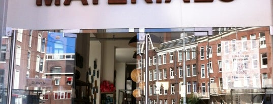 Raw Materials - The home store is one of Amsterdam.