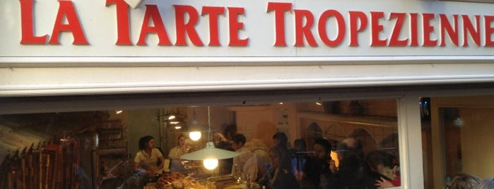 La Tarte Tropézienne is one of Cote d'Azur.