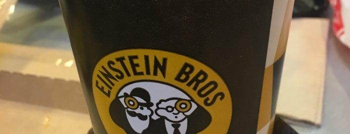Einstein Bros Bagels is one of Lugares favoritos de Kyle.