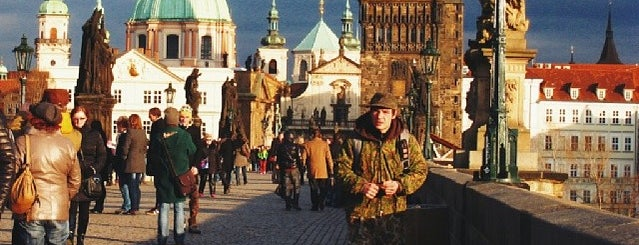 Staroměstská mostecká věž is one of Nejlepší výhledy v Praze.