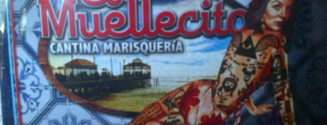 El Muellecito (Cantina Marisquería) is one of Delicias al paladar..