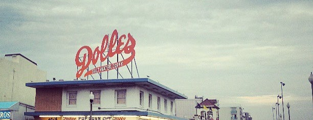 Dolle's Candyland is one of Rehoboth Beach.
