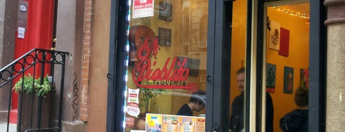 El Diablito Taqueria is one of manhattan.