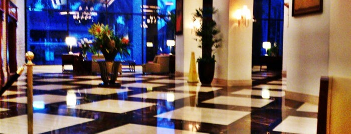 JW Marriott Hotel is one of Lugares favoritos de Jimmy.
