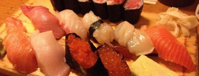 Tomoe Sushi is one of Adela's favorite restaurants.