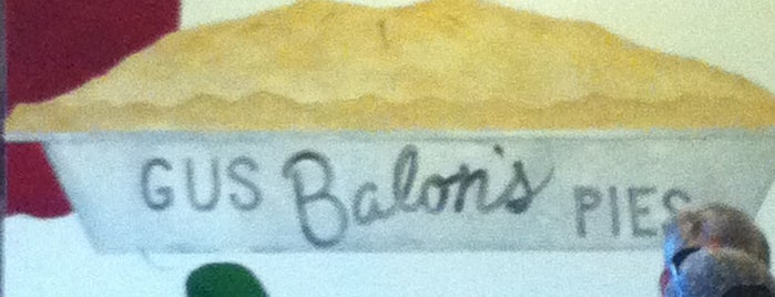 Gus Balon's is one of RESTAURANTS II.