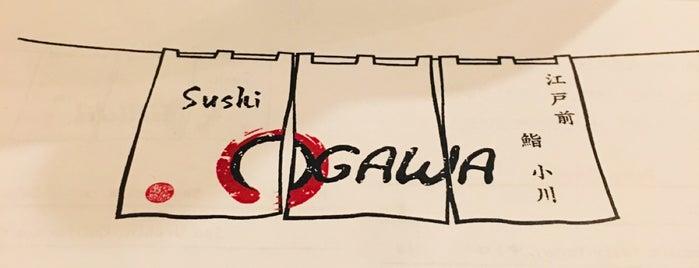 Sushi Ogawa is one of Posti salvati di Rachel.