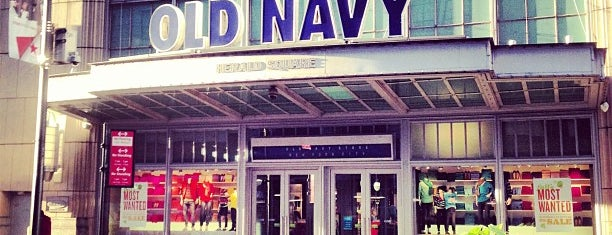Old Navy is one of NYC.