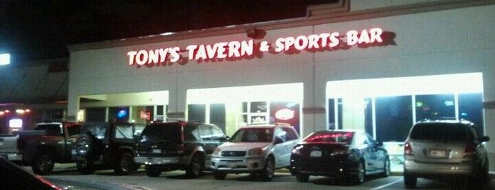 Tony's Tavern is one of rodney'in Kaydettiği Mekanlar.