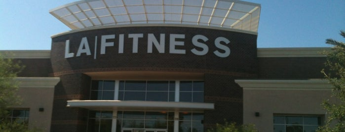 LA Fitness is one of B : понравившиеся места.