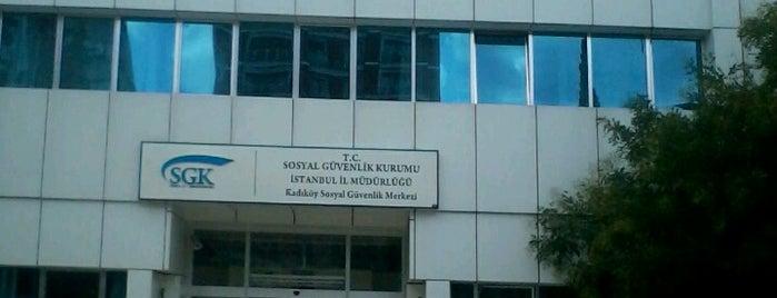 SGK Kadıköy Sosyal Güvenlik Merkezi is one of สถานที่ที่ ESRA👑 ถูกใจ.