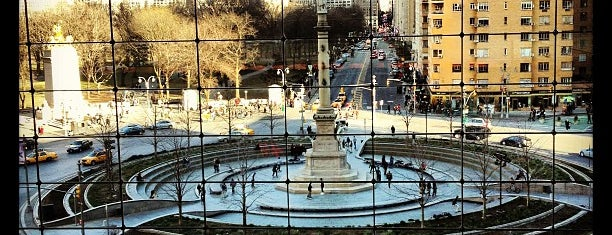 Columbus Circle is one of NYC basics 2018.