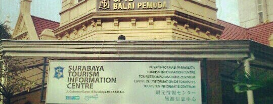 Tourism Information Center Surabaya is one of Characteristic of Surabaya.