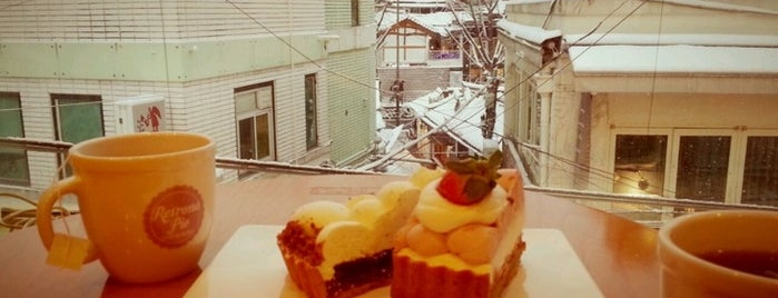 Retrona Pie is one of sunshine in Seoul.