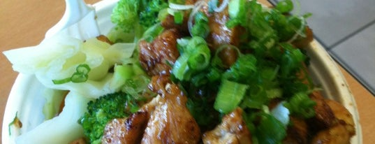 The Flame Broiler is one of Lieux qui ont plu à Tim.