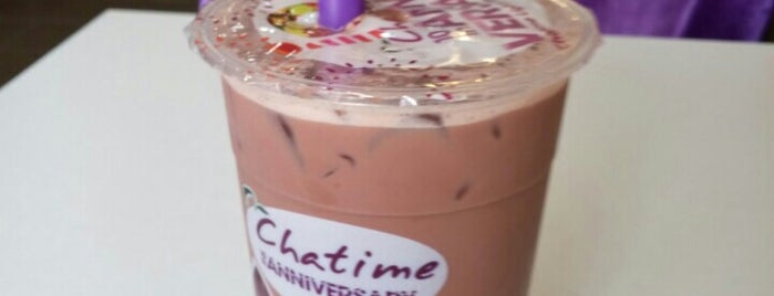 Chatime is one of Bay Area.