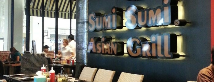 Sumi Sumi Asian Grill @market Villeg Huahin is one of Orte, die Kate gefallen.
